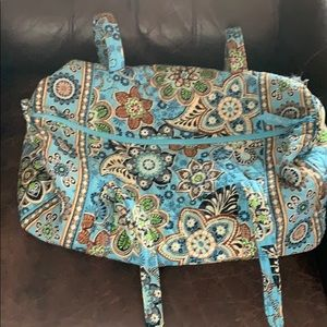Vera Bradley Bali Blue Duffle